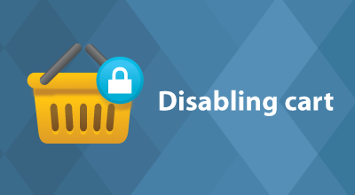 Disabling cart