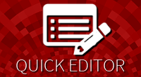 Quick products editor